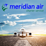 Meridian Air Charter Service bookable via traffics!